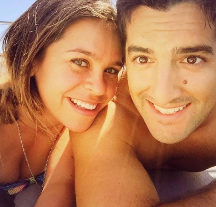 Jessica Ortner and husband